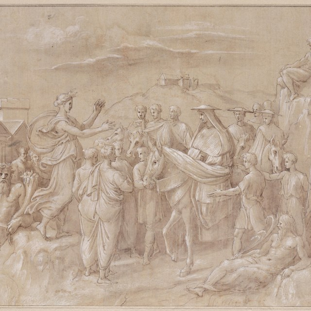 Investituur van kardinaal Giovanni de' Medici, 1492