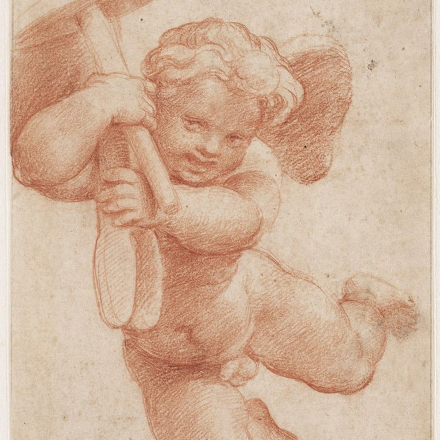 Putto with the attributes of Vulcan