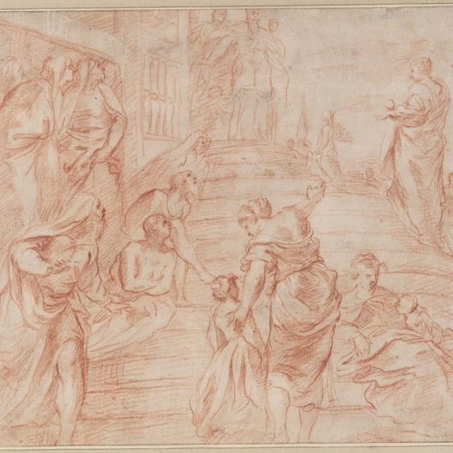 Tempelgang van Maria