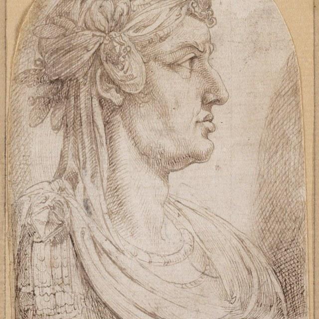 Borstbeeld van Romeins keizer ('Galba')
