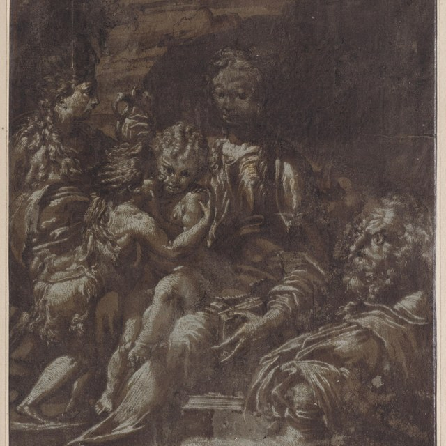 Madonna en Kind met heiligen (Madonna di San Zaccaria)