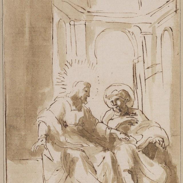 Christus verschijnt in Korinthe aan Paulus
