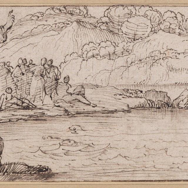 Prediking van Antonius tot de vissen