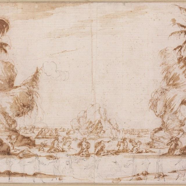 Zeegoden, nimfen en tritonen (Quarta Scena di Mare)