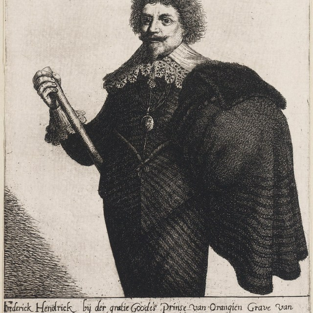 Portret Frederik Hendrik van Nasssau