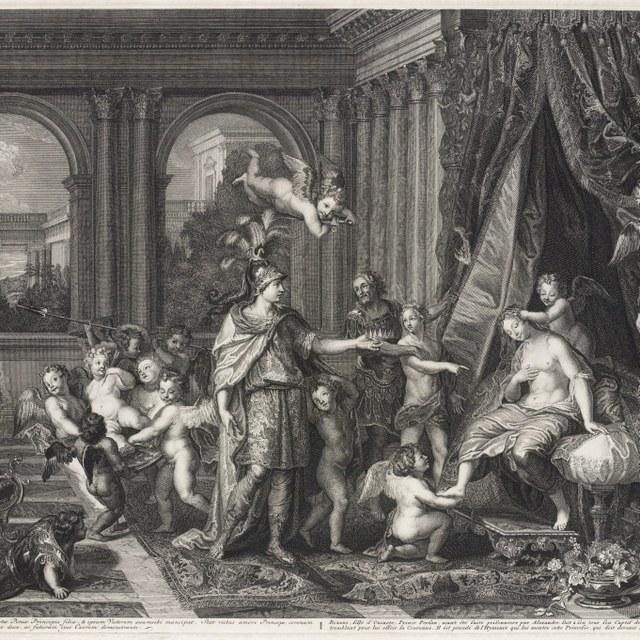 Huwelijk van Alexander de Grote en Roxane