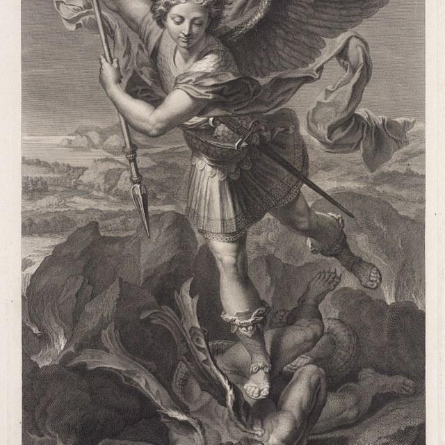Michaël verslaat de duivel