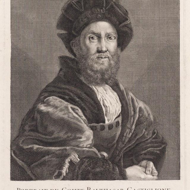 Portret van Balthasare Castiglione