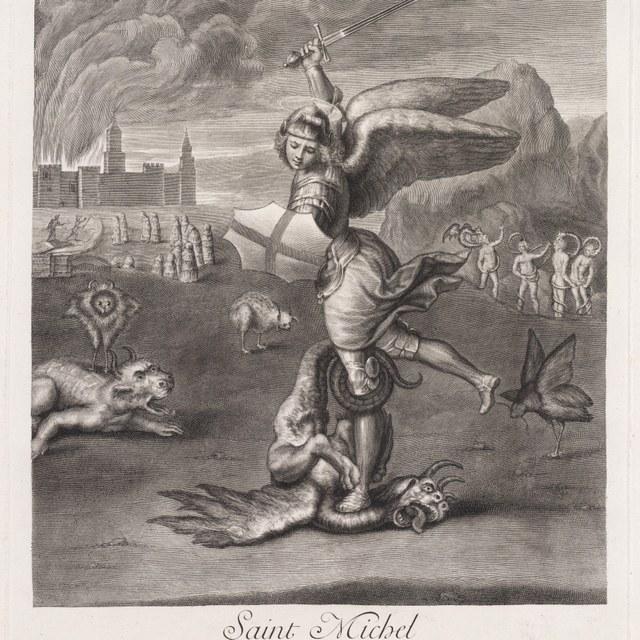 St. Michaël verslaat de draak