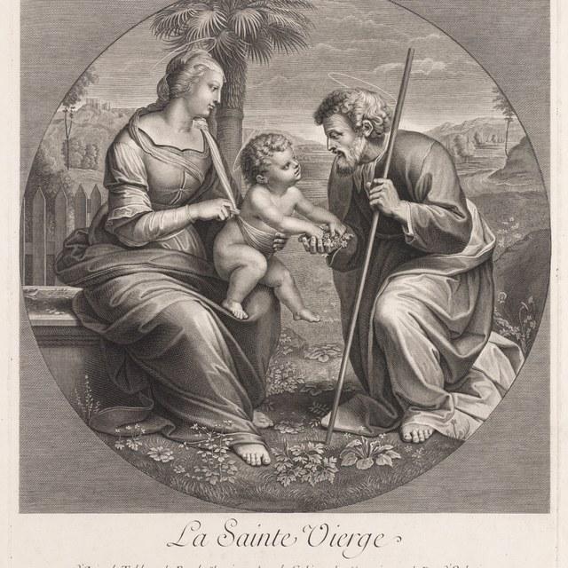 Maria met kind en Jozef
