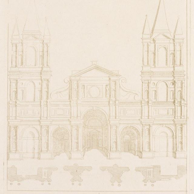 facade van een kerk