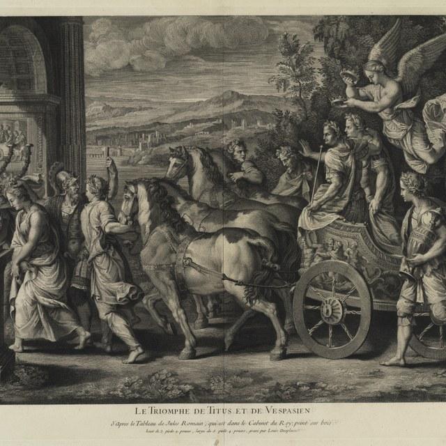 Triomf van keizer Titus en Vespasianus