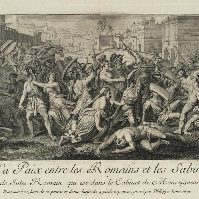Vrede tussen Romeinen en Sabijnen