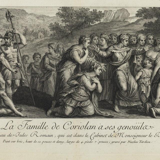 De smekende familie van Coriolanus