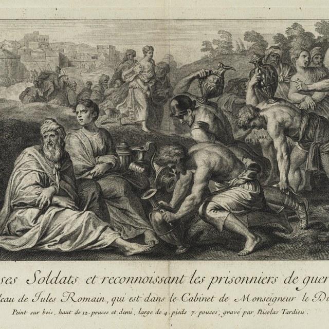 Scipio beloont zijn soldaten en verzorgt zijn gevangenen