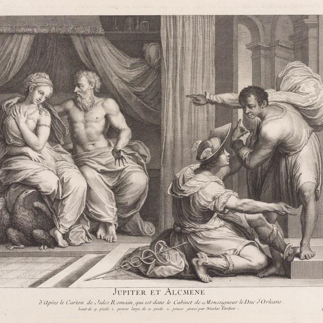 Jupiter en Alcmene