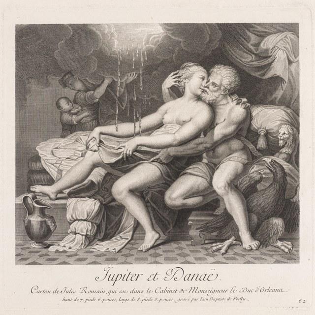 Jupiter en Danaë