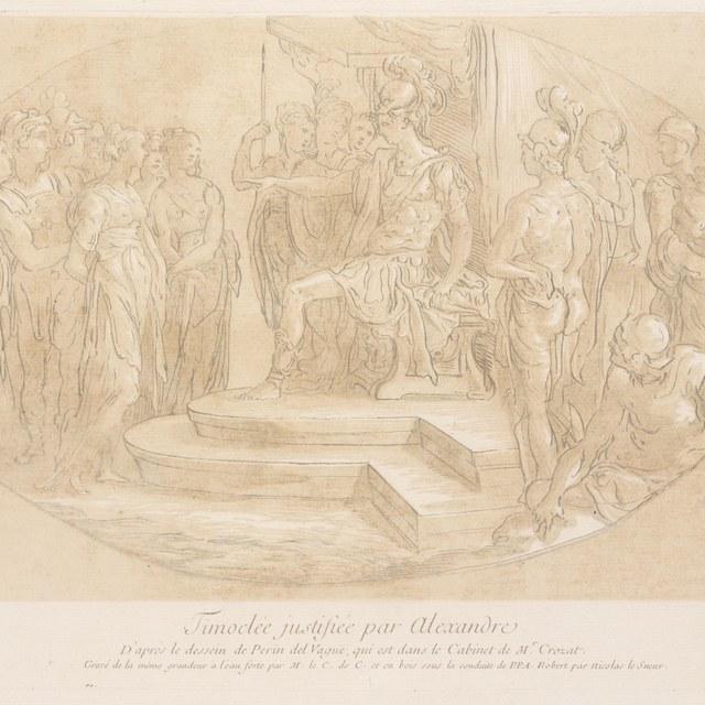 Timoclea voor Alexander