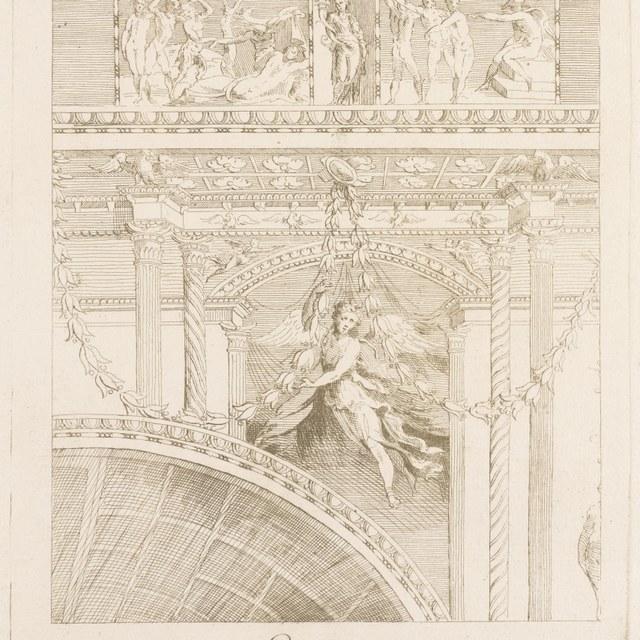 Detail ornamenten Colosseum Rome