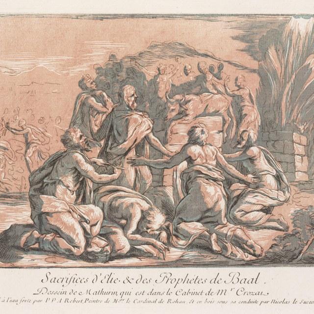 Elia en de priesters van Baäl