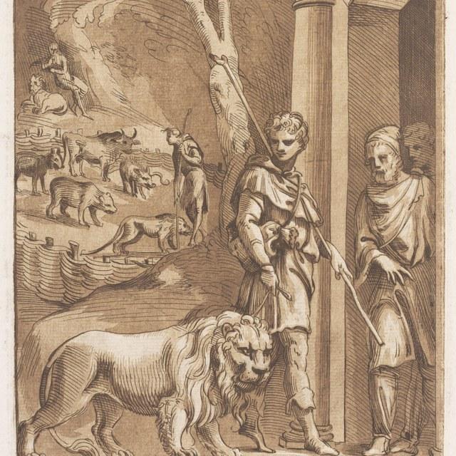 Androclus met de leeuw