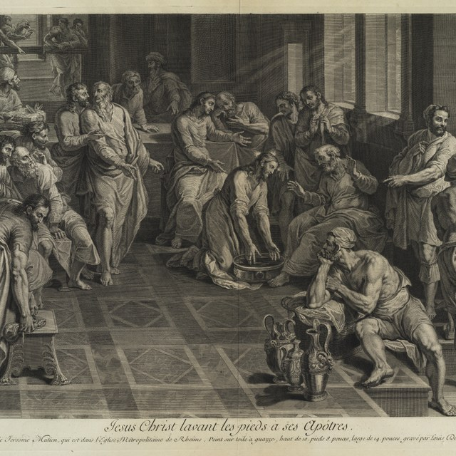 Voetwassing der Apostelen