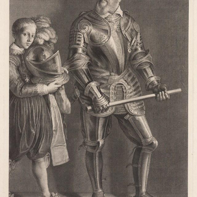 Portret van Adolf de Mignacourt