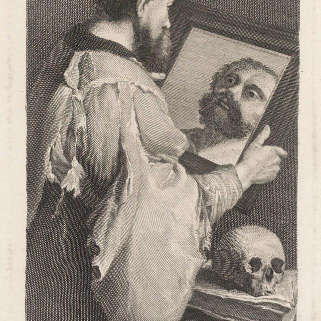 Portret van Caravaggio