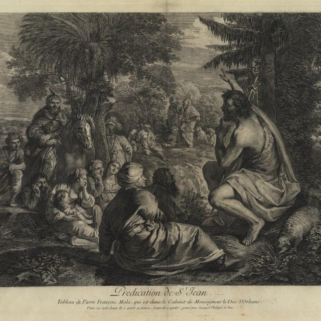 De preek van Johannes de Doper