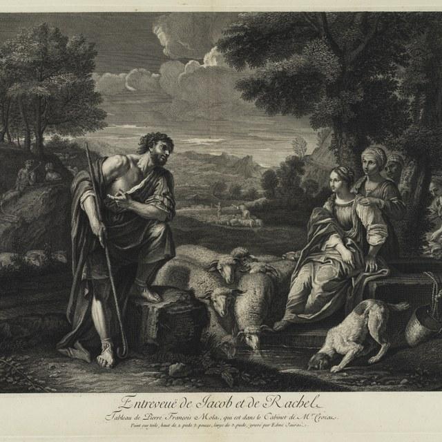 Jacob en Rachel bij de bron