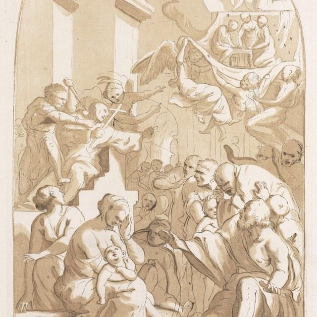 Het martelaarschap van St.Angelo