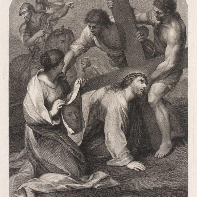 De Kruisdraging, Veronica met zweetdoek