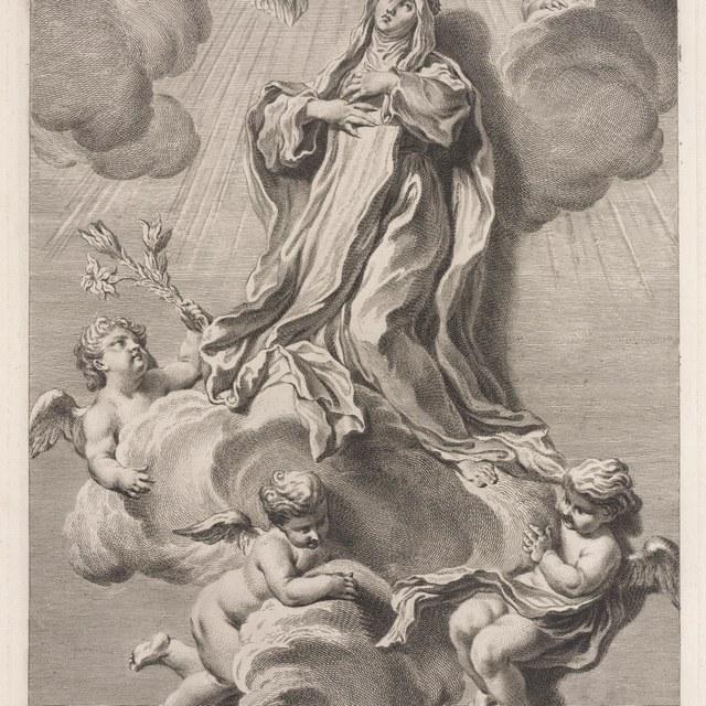 Extase van de heilige Katharina van Siena