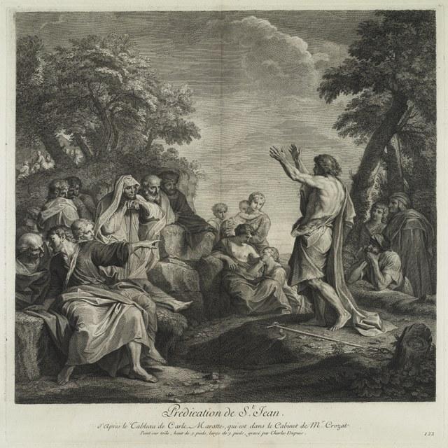 De prediking van Johannes de Doper