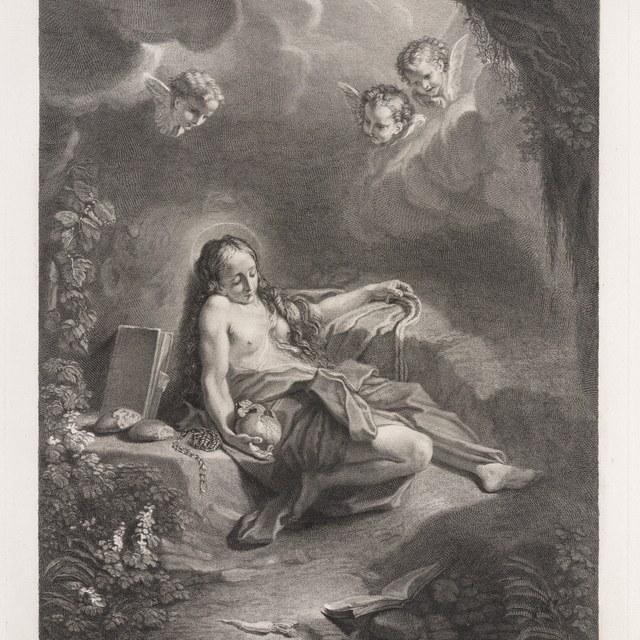 Heilige Magdalena in penitentie