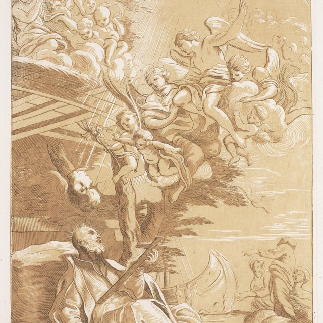 De dood van St.Franciscus Xaverius
