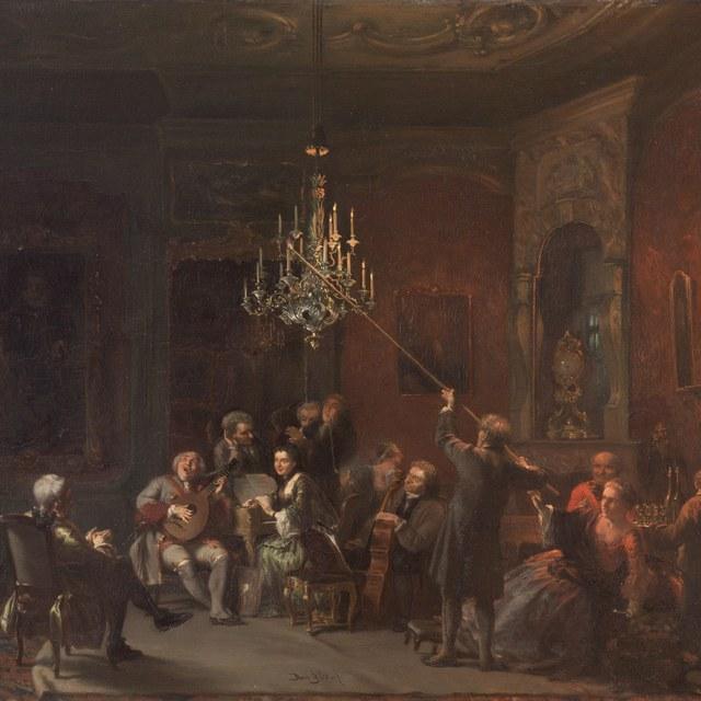 De muziekpartij