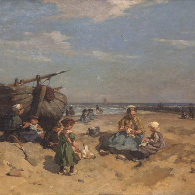 Het Scheveningse strand