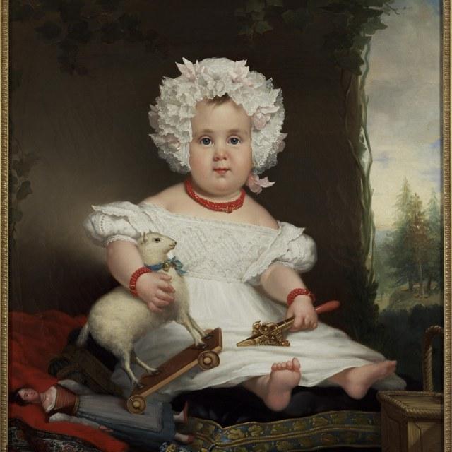 Portrait of Catharina Elisabeth Rente Linsen