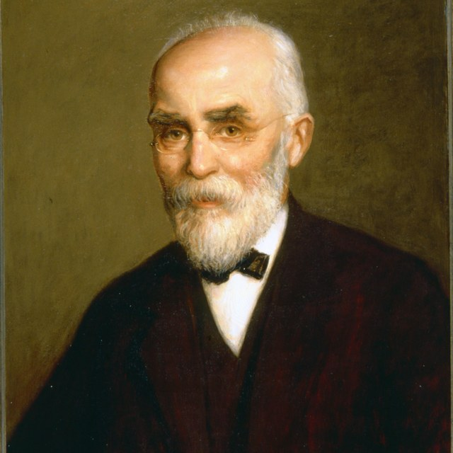 Portret van prof.dr. H.A. Lorentz (1853-1928)