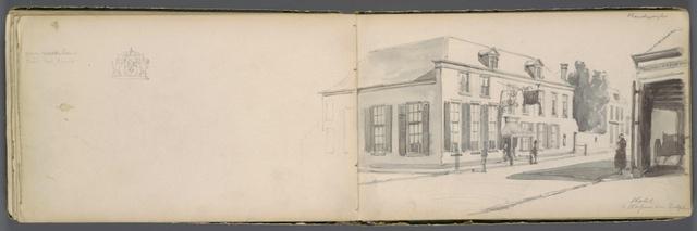 Schetsboek XII. Kuilenberg, Deventer, Harderwijk en figuren in de natuur