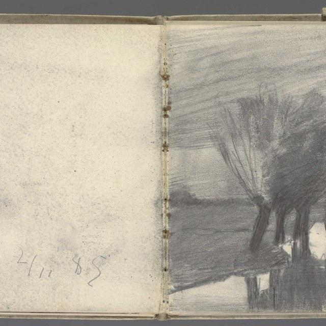 Schetsboek, ca. 1885