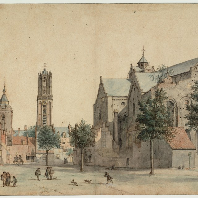 The Mariaplaats in Utrecht