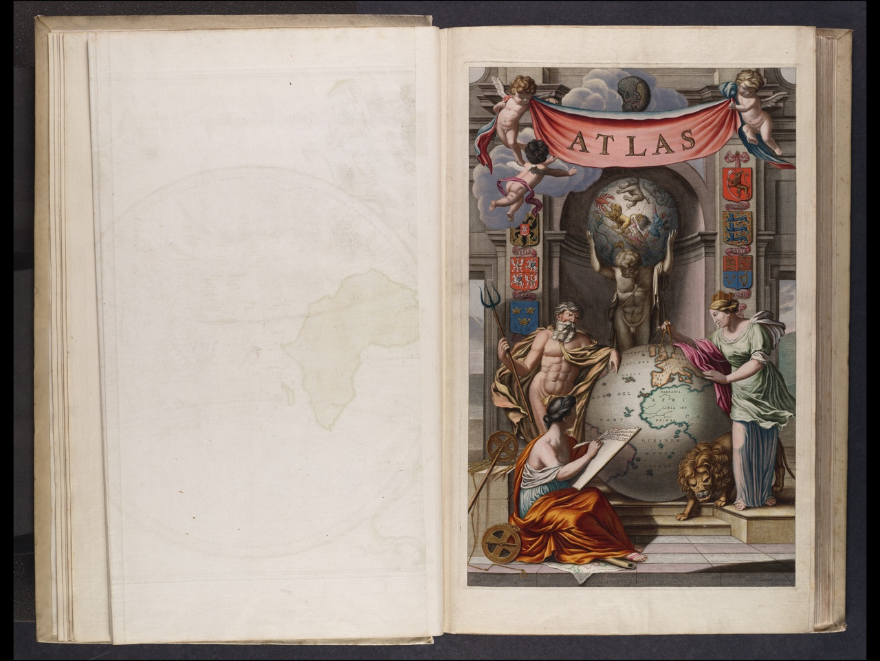 Atlas major, cum generales omnium totius orbis [...] tabulas geographicas continens.