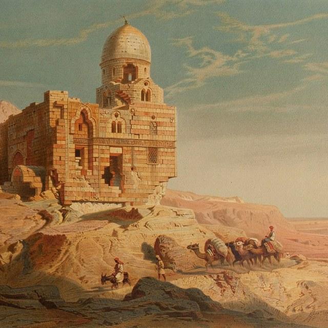 Nilbilder auf seiner Reise durch Egypten nach der Natur aufgenommen. Aquarell-Facsimiles aus der artistischen Anstalt von Gustav W. Seitz.