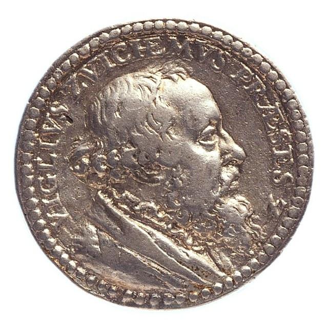 Viglius van Zuichem van Ayta, voorzitter van de geheime raad van Karel V te Brussel.