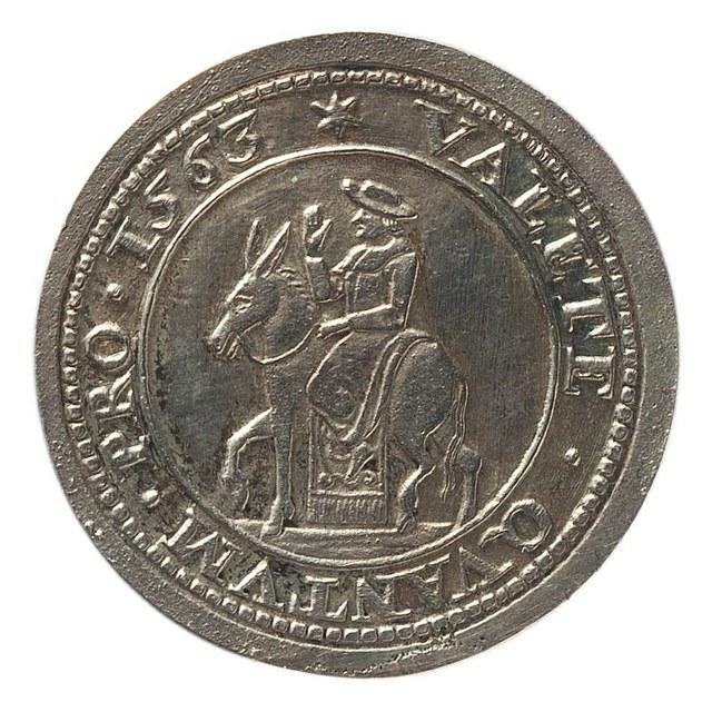 Antoine Perrenot, kardinaal de Granvelle, bisschop van Arras (Atrecht) vertrekt uit de Nederlanden in 1563.