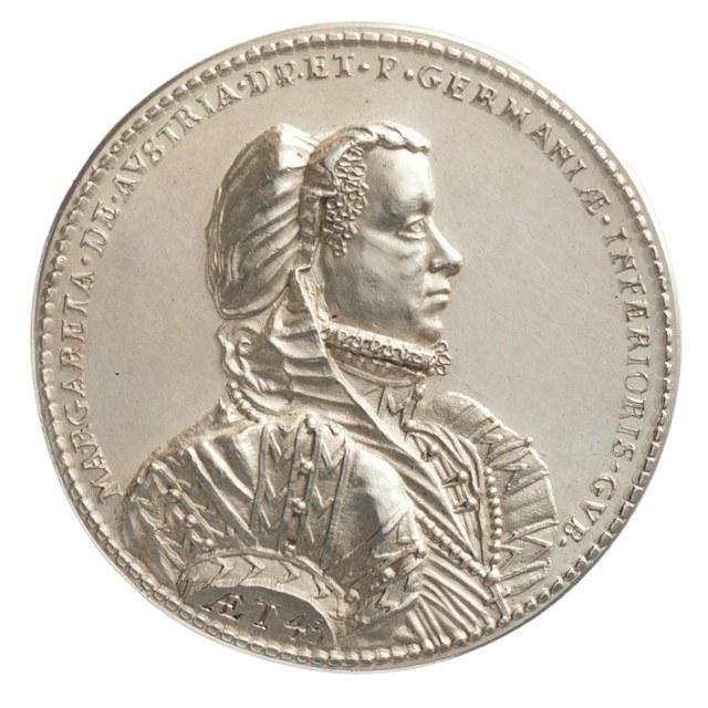 Standvastigheid van Margaretha van Oostenrijk, landvoogdes van de Nederlanden.