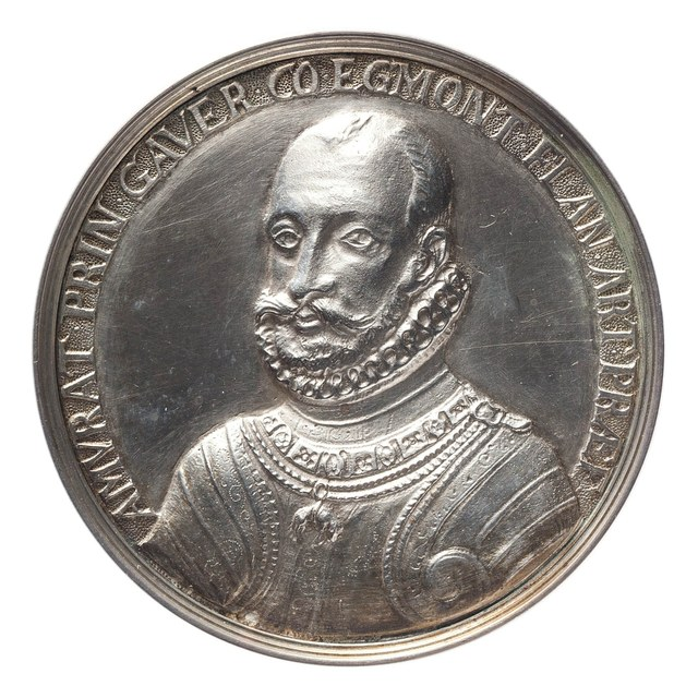Onthoofding van de Graaf van Egmond, na het vonnis van Alva's 'Bloedraad' in Brussel.