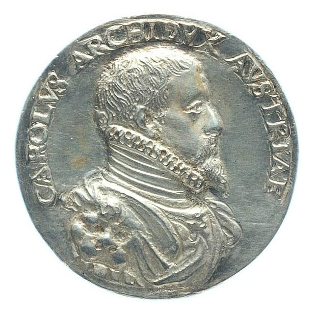 Karel, aartshertog van Oostenrijk en broer van keizer Maximiliaan.